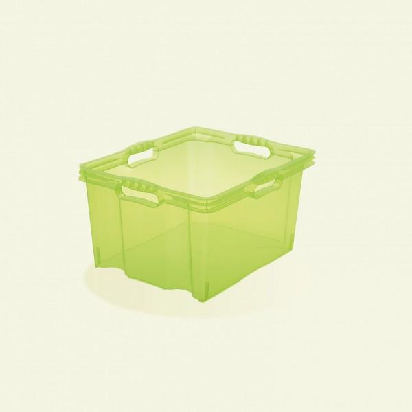 Ящик для хранения Multi-box M прозрачный 13,5л 1