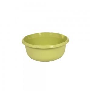 Миска круглая 1,5л с отливом зеленая