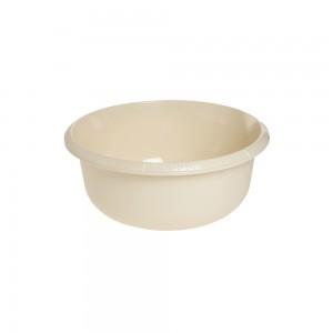 Миска круглая 2,5л с отливом крем