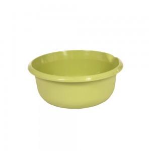 Миска круглая 3,5л с отливом зеленая