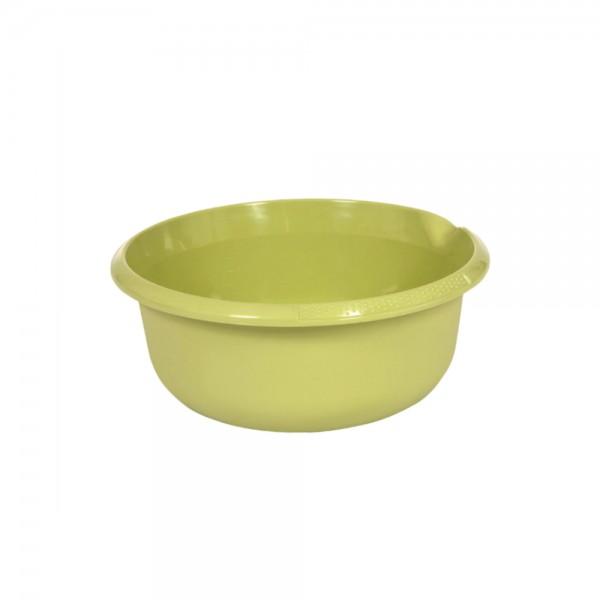 Миска круглая 3,5л с отливом зеленая 1