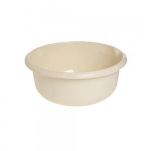 Миска круглая 3,5л с отливом крем