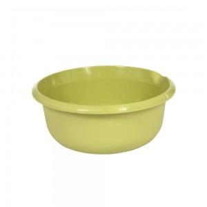 Миска круглая 6л с отливом зеленая