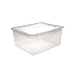 Ящик для хранения BASIXX 18л с крышкой