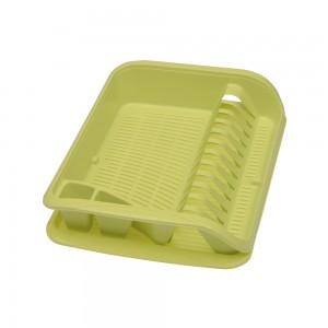 Сушилка для посуды мини зеленая
