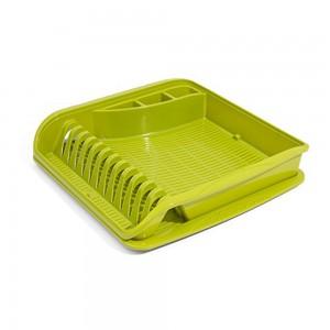 Сушилка для посуды зеленая