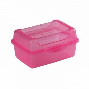 Контейнер для завтрака Click-Box 0,35л розовый