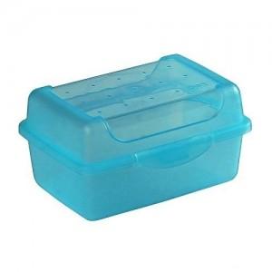Контейнер для завтрака Click-Box 0,35л голубой