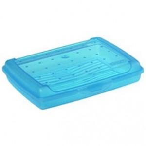 Контейнер для завтрака Click-Box 0,5л голубой