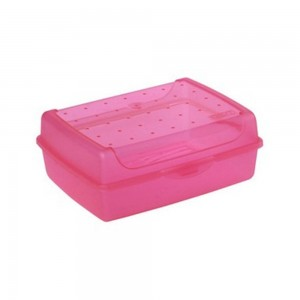Контейнер для завтрака Click-Box 1л розовый