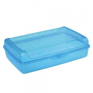 Контейнер для завтрака Click-Box 3,7л голубой