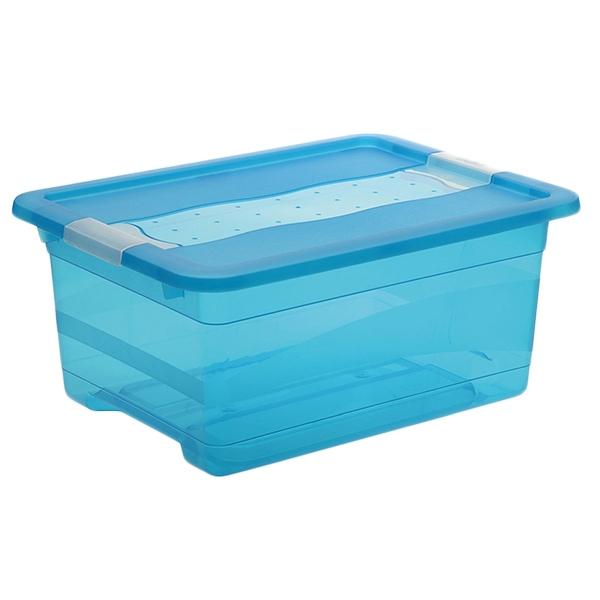 Ящик для хранения Сrystal-box 12л с крышкой 1