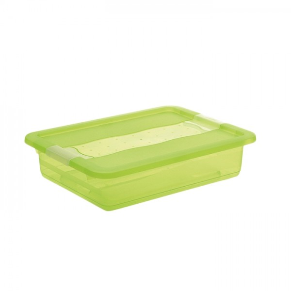 Ящик для хранения Сrystal-box 7л с крышкой 1