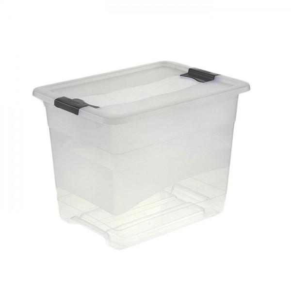 Ящик для хранения Сrystal-box 24л с крышкой 1