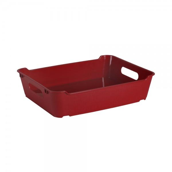 Ящик для хранения LOFT А5  3л бордовый 1