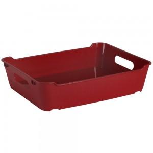 Ящик для хранения LOFT А4  5,5л бордовый