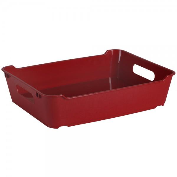 Ящик для хранения LOFT А4  5,5л бордовый 1
