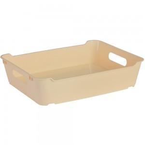 Ящик для хранения LOFT А4  5,5л крем