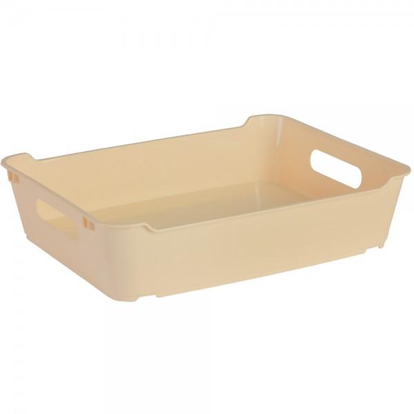 Ящик для хранения LOFT А4  5,5л крем 1
