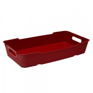 Лоток для посуды LOFT бордовый