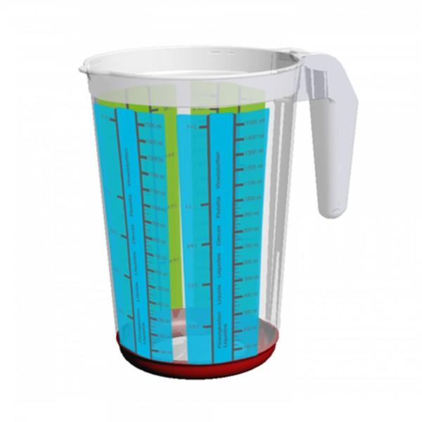Емкость мерная кухонная DELUXE 1,5л 1