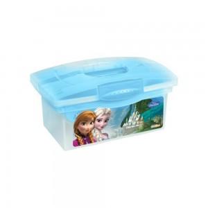 Ящик для хранения прозрачный Frozen blue 40*24*21