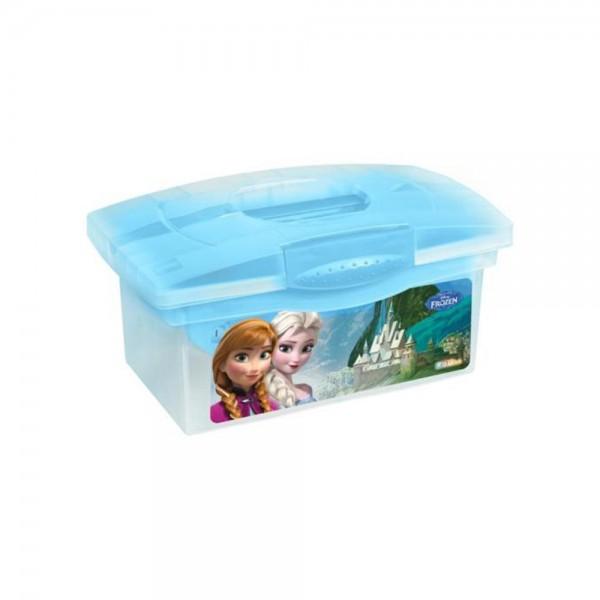 Ящик для хранения прозрачный Frozen blue 40*24*21 1