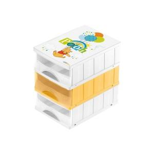 Комод на 3 ящика Winni the Pooh  mini