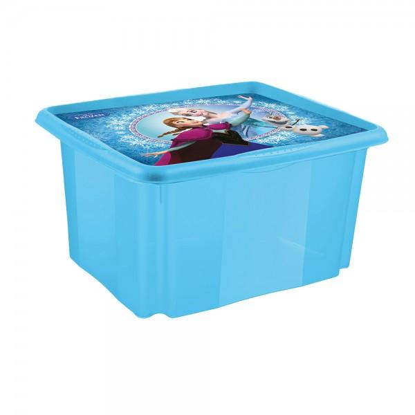 Ящик для хранения Frozen blue 24л 1