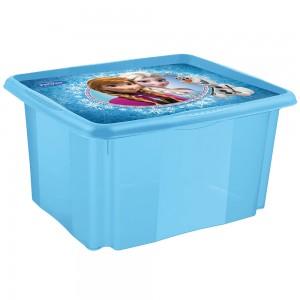 Ящик для хранения Frozen blue 45л