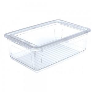 """Ящик для хранения прямоуг.""""Clearbox"""" 30л с крышкой"""