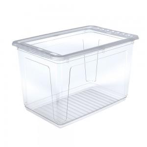 """Ящик для хранения """"Clearbox"""" 52л с крышкой"""