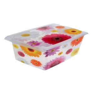 Ящик для хранения Pink Flowers 10л