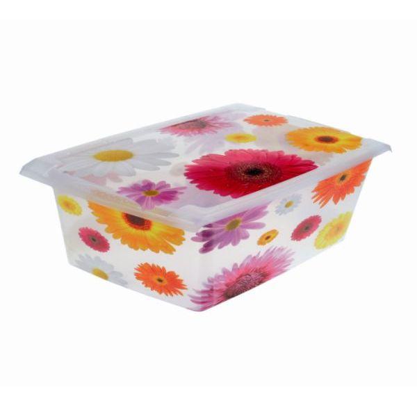 Ящик для хранения Pink Flowers 10л 1