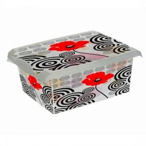 Ящик для хранения PoppyStile10л с крышкой