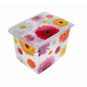 Ящик для хранения Pink Flowers 20,5л