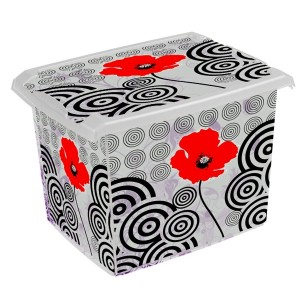 Ящик для хранения PoppyStile20л с крышкой