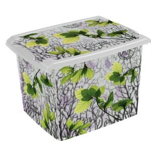 Ящик для хранения SpringLeaves20л с крышкой