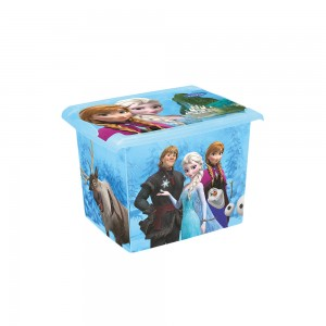 Ящик для хранения прозрачный Frozen blue 20,5л