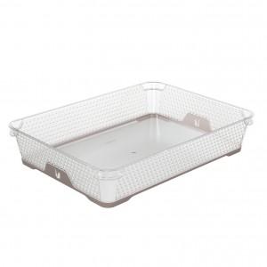 Ящик для хранения mini funcion А-4 серо-коричневый
