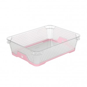 Ящик для хранения mini funcion А-5 розовий