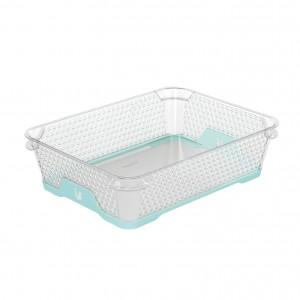 Ящик для хранения mini funcion А-5 аквамарин