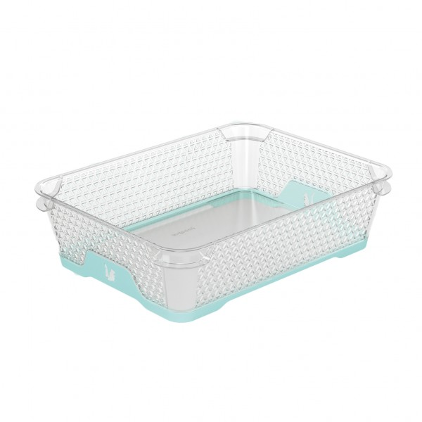 Ящик для хранения mini funcion А-5 аквамарин 1