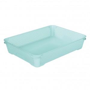 Ящик для хранения mini basket А-4 аквамарин