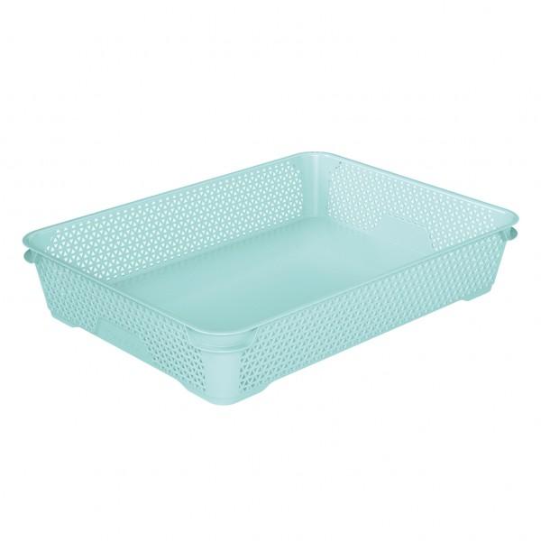 Ящик для хранения mini basket А-4 аквамарин 1