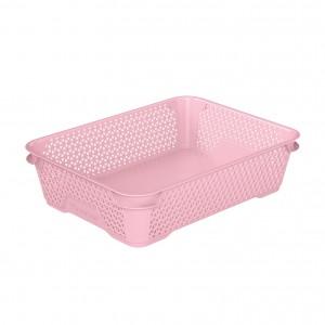 Ящик для хранения mini basket А-5 розовый