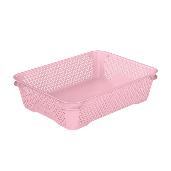 Ящик для хранения mini basket А-5 розовый 1