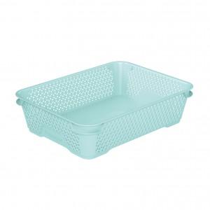 Ящик для хранения mini basket А-5 аквамарин