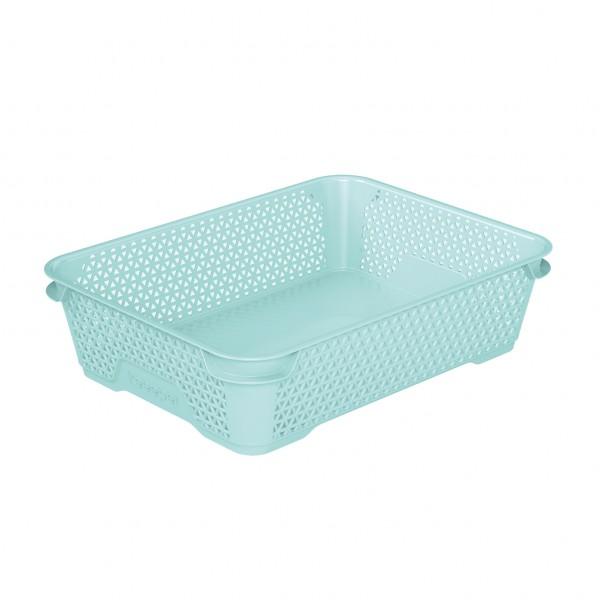 Ящик для хранения mini basket А-5 аквамарин 1