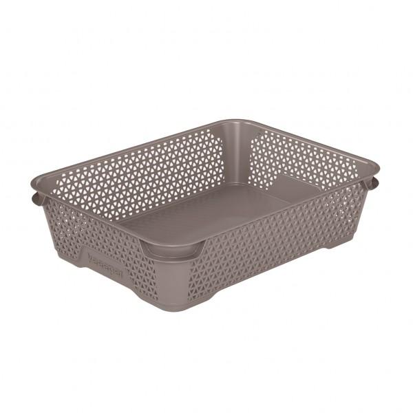 Ящик для хранения mini basket А-5 серо-коричневый 1